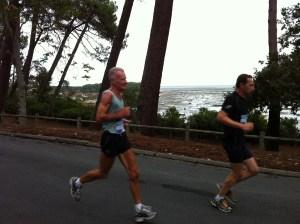 Marathon des villages 2011: après la côte des gendarmes, le point de vue
