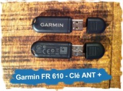 Garmin Forerunner 610: Clé ANT+