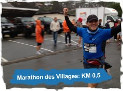 Marathon des villages 2012: KM 0,5
