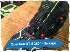 Quechua RT-5 360°: le serrage