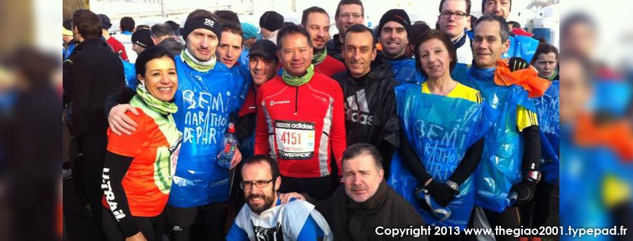 Semi-marathon de paris 2013