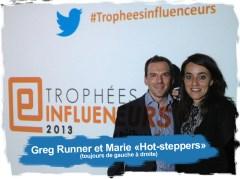 """Greg-Runner &Marie """"hot-steppers"""""""