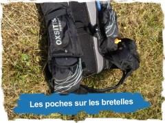Hydragon Ace 10L: poches sur les bretelles