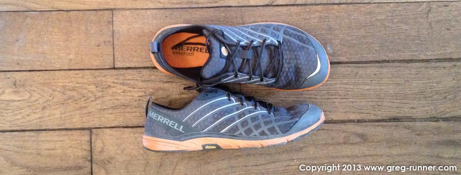 Chaussures minimalistes Merrel Bare Access 2