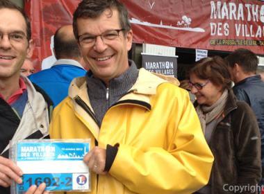 Marathon des villages 2013: le DUO