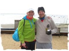 Marathon des villages duo: l'avant course