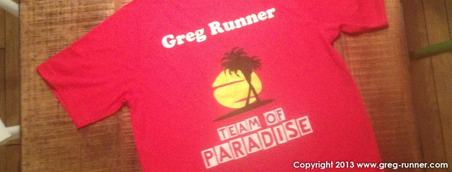 Marathon des villages en relais: Team of Paradise-