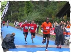 Marathon des villages: finish