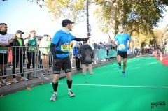 Ekiden de Paris: relais de la team Runnosphère