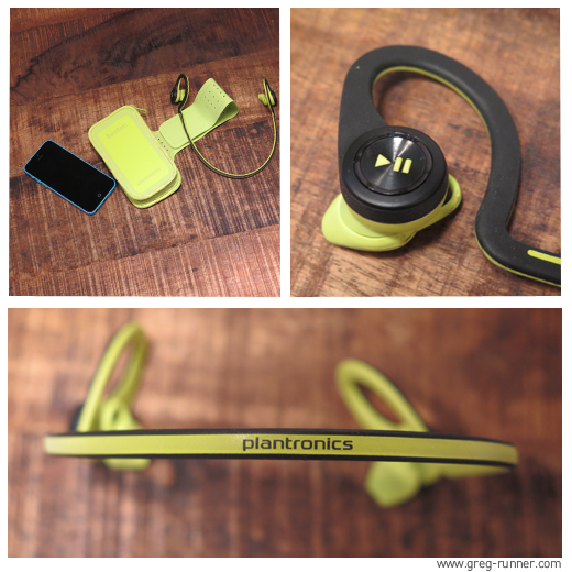 Backbeat Fit Plantronics: Close up