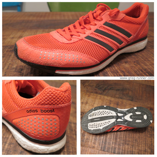 Test: Adidas Adios Boost - Close-up
