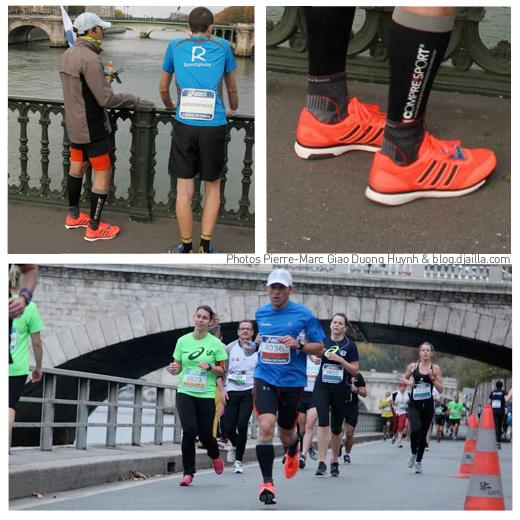 Test: les Adidas Adios Boost sur l'Ekiden de Paris