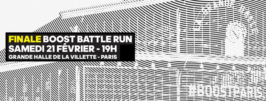 Boost Battle Run: la finale