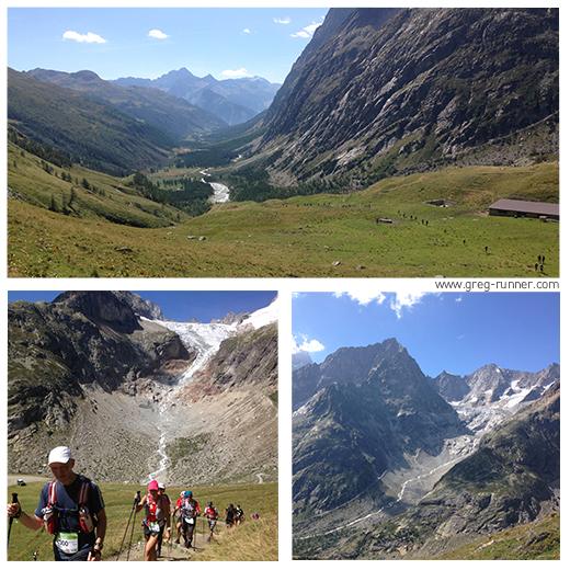 CCC 2015: vers le Grand Col Ferret