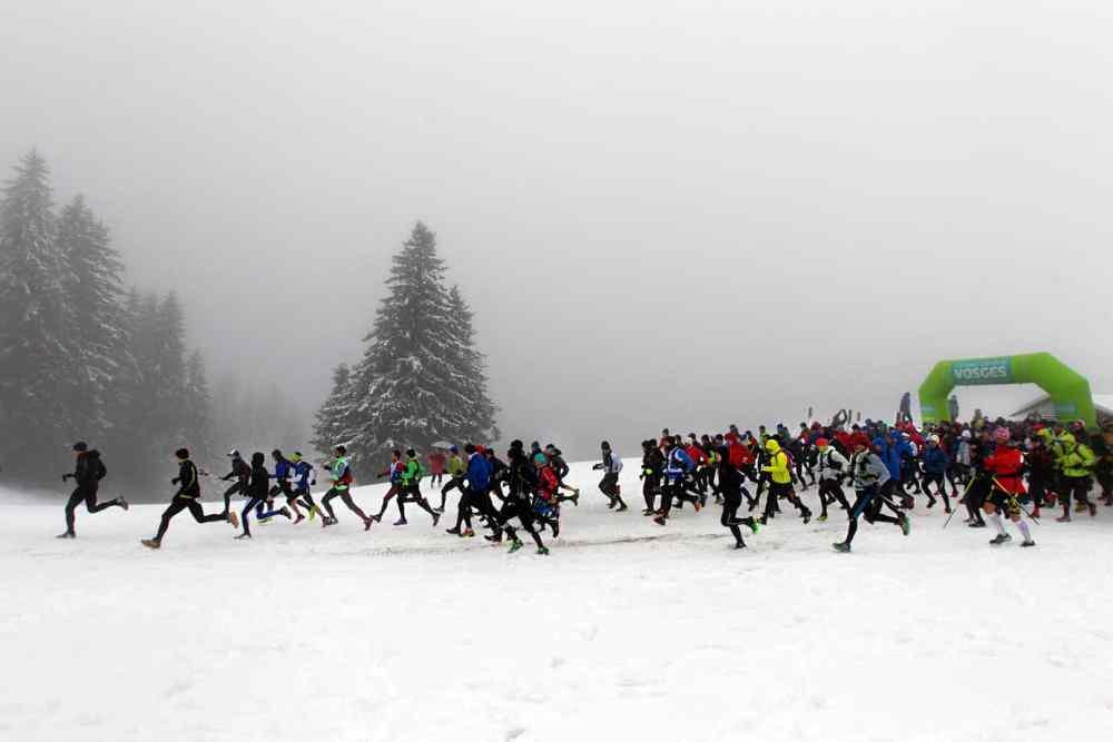 Départ de la course version 17km