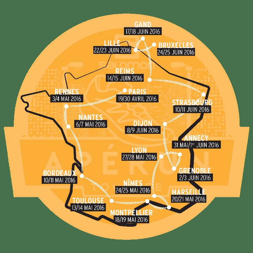 SALOMON Dates Apérun Tournée