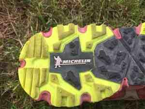 Mizuno Wave Daichi - semelle Michelin