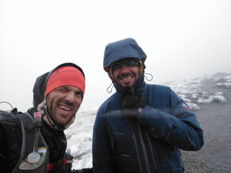 UTMB: le bénévole du Grand Col Ferret