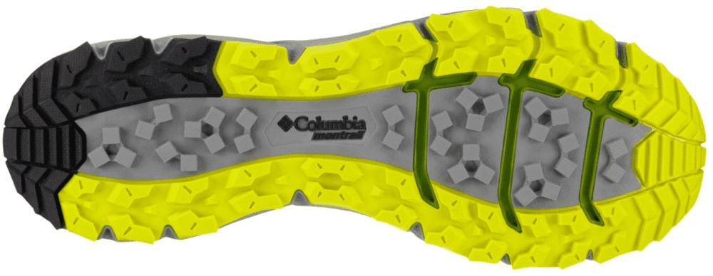 Columbia Montrail Caldorado 2 : la semelle