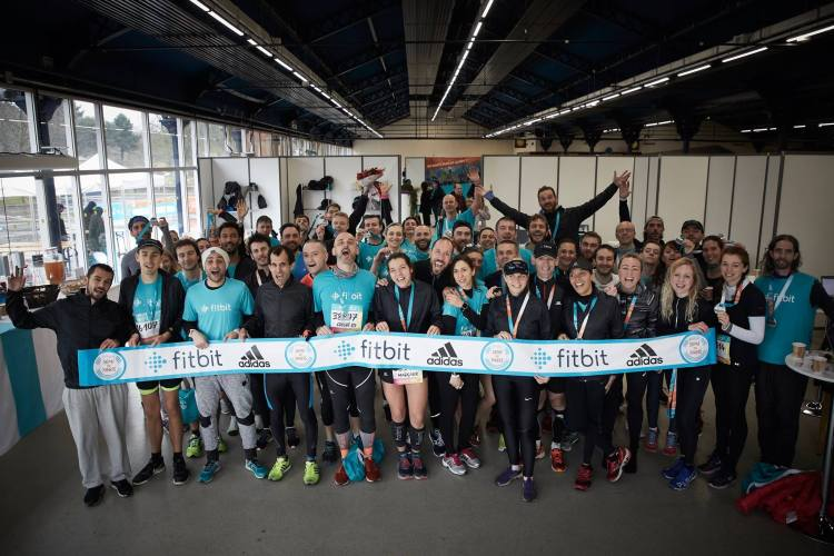Semi de Paris avec la Team Fitbit