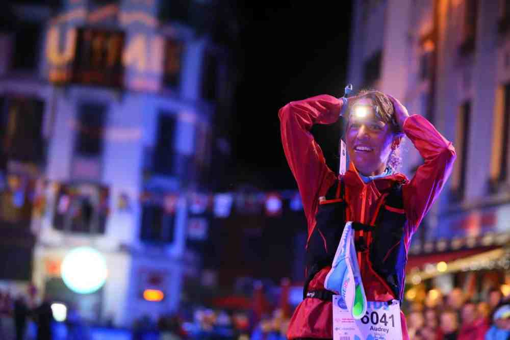 UTMB - TDS: victoire féminine de Audrey Tanguy