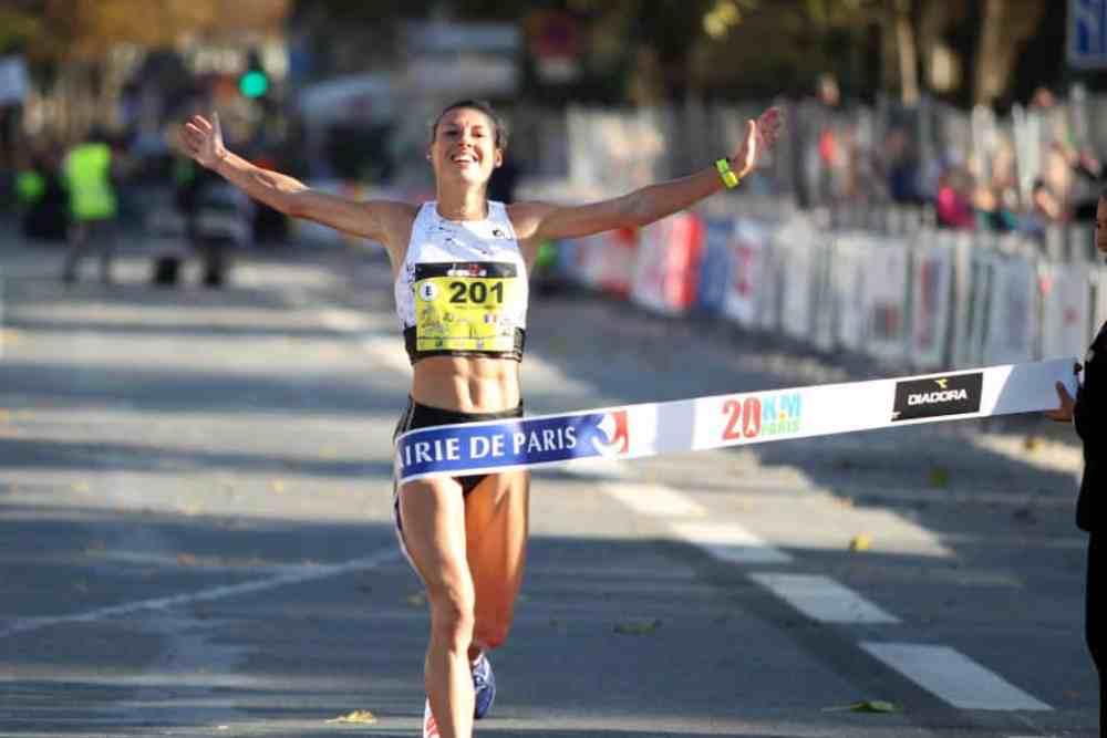 20km de Paris 2018: vainqueur Ophélie Claude Boxberger