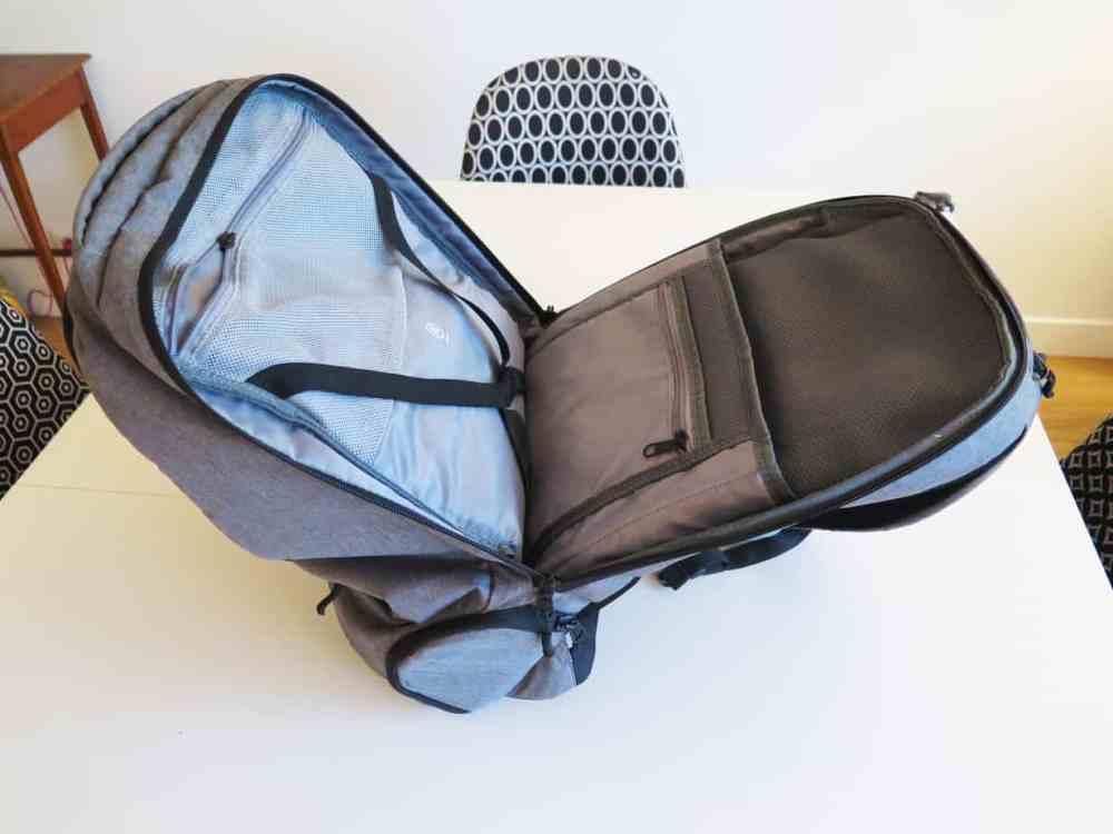 Karkoa smartbag 40 le Test et avis: le sac professionnel et ordinateur