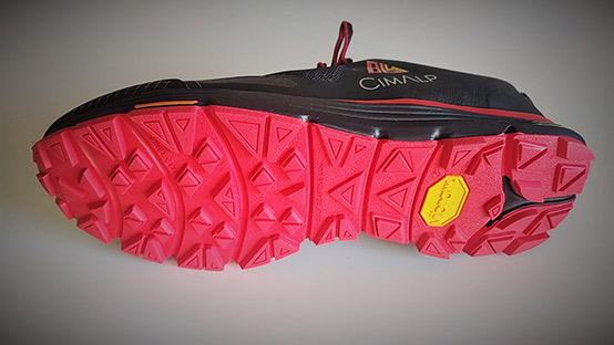 Chaussures de trail Cimalp 864 Drop Control semelle vibram