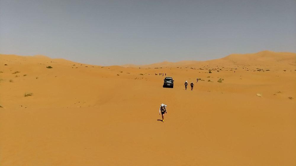 Une seconde étape au coeur des dunes