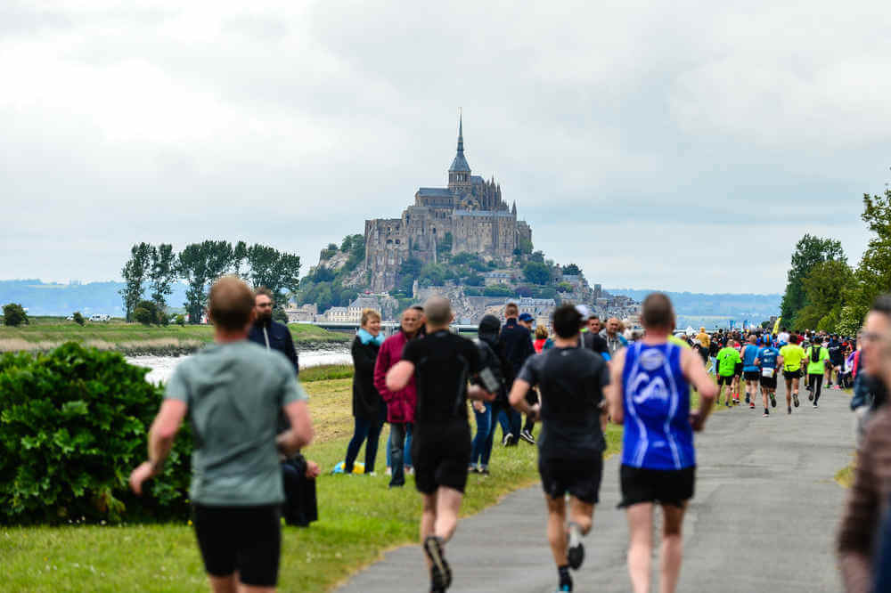 Run In Marathon du Mont Saint-Michel