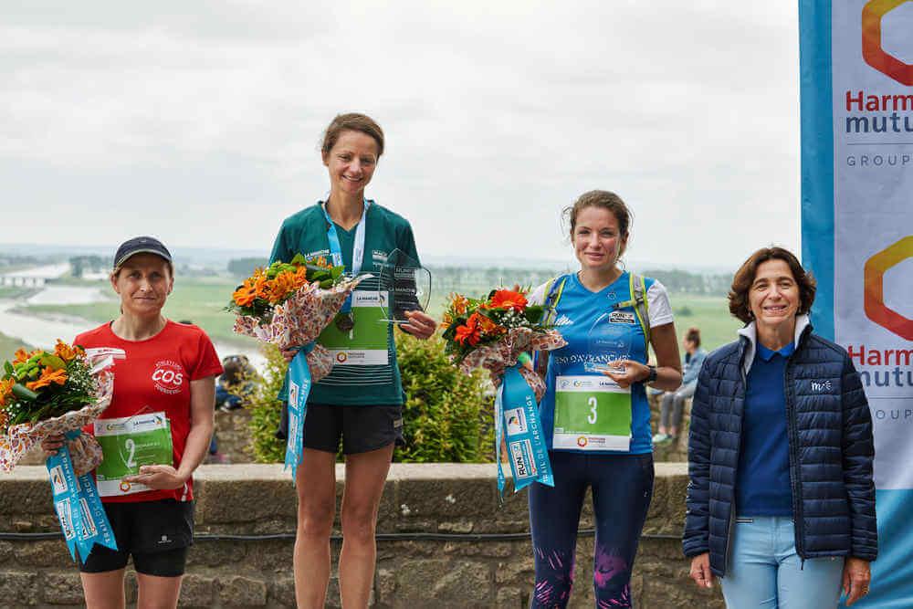 Run In Mont Saint-Michel - Trail de l'Archange: Podium Femmes