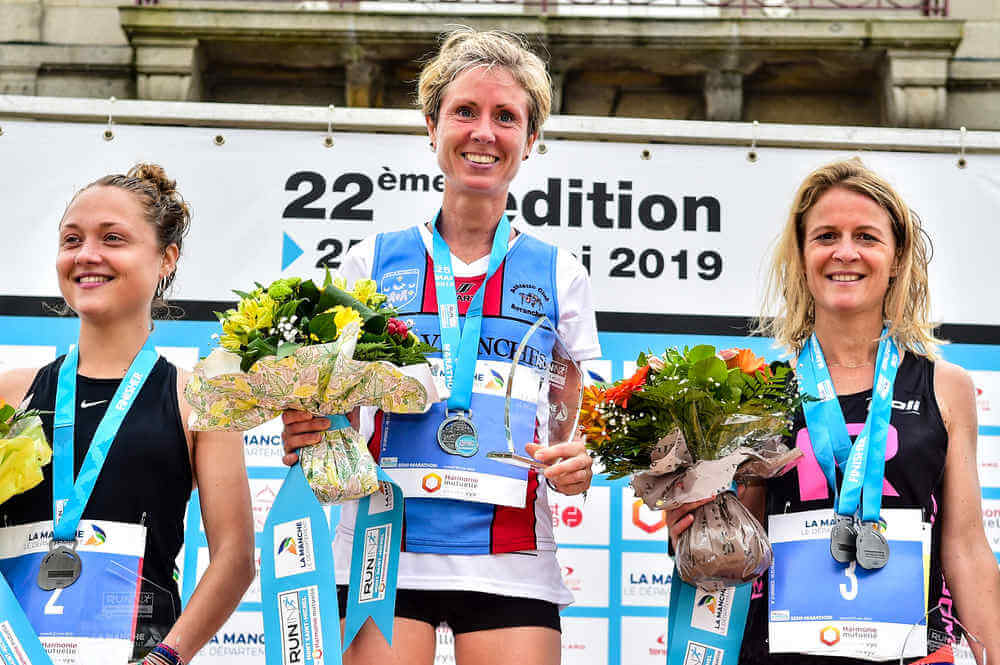 Semi-marathon du Mont Saint-Michel: podium Femmes