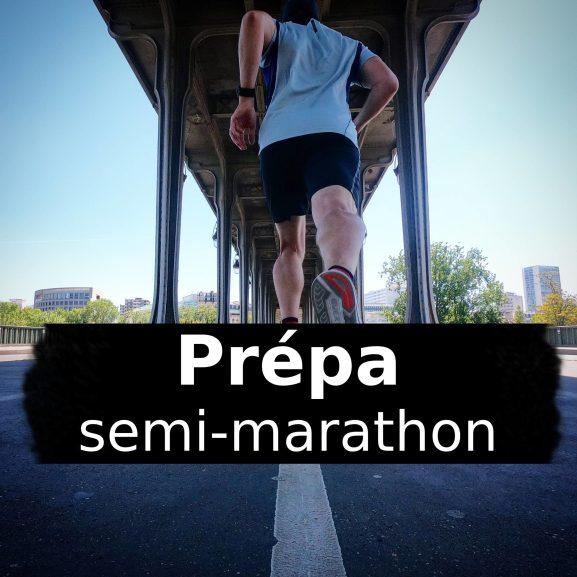 Prépa: programme d'entrainement semi-marathon