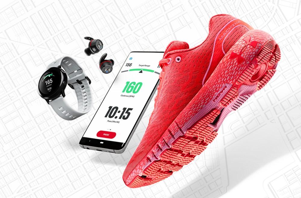Une chaussure connectée