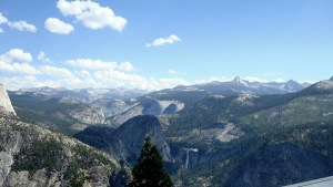 4 Mile Trail Hike View of Yosemite