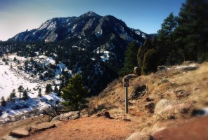 Views from the Mesa Trail in Boulder Colorado