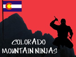 Colorado Mountain Ninjas Logo