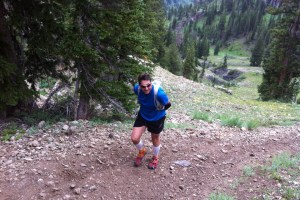 picture of Jim Millar on a wasatch training run