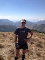 picture of craig lloyd at mile 43 of the wasatch 100