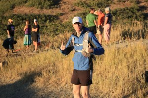 picture of pacer jerry armstrong at the wasatch 100