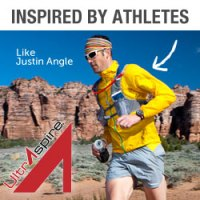 picture of justin angle ultra runner wearing alpha pack from ultraspire