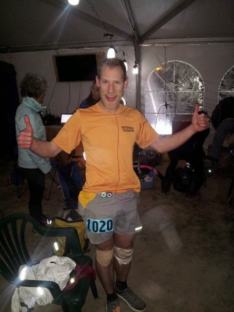 2014 Antelope Island Buffalo Run 100, first place 100 mile, 16:40
