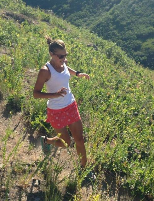 Patagonia Nine Trails Skirt Britta Run