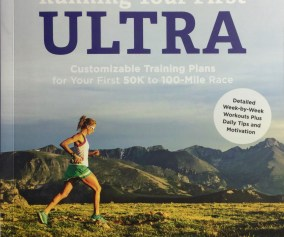 picture of krissy moehl's book, running your first ultra