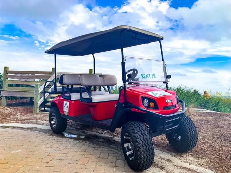 6 Passenger Lifted Golf Cart