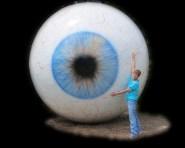 Cindy with eyeball black bg