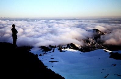 Valley Clouds Below Base Camp