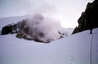 Climbing Toward Steam Crater