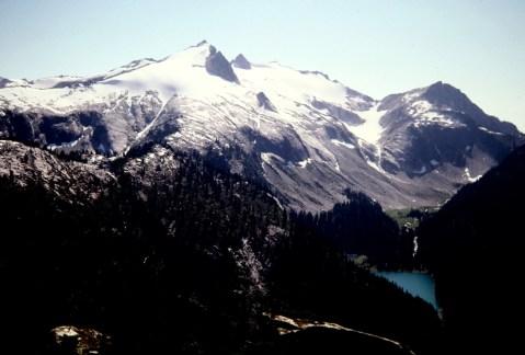 Snowking Mtn From Kindy Ridge