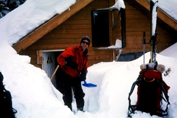 Digging Out Discovery Cabin